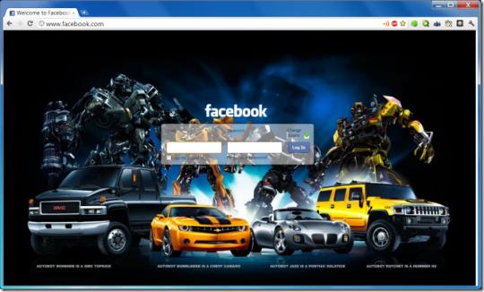 Cambiar pantalla de inicio de Facebook
