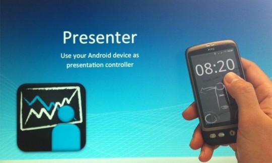 Controlar presentaciones desde Android