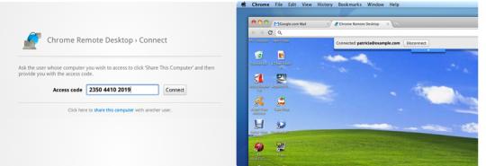 Control remoto con Google Chrome