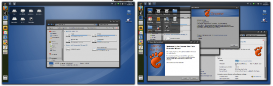 Transformar Windows 7 en Linux con Gnome