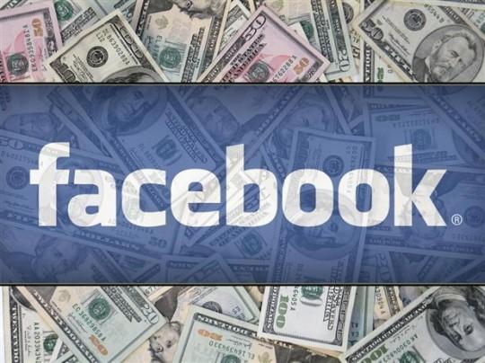 Facebook incluye publicidad en el muro de los usuarios