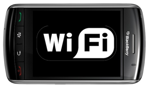 Sacar las claves wifi con Blackberry