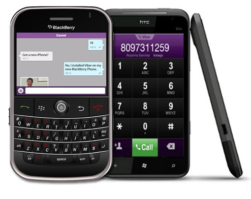 Viber Blackberry y Windows Phone