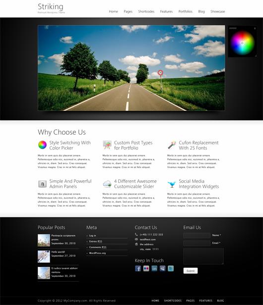 Descargar 25 temas HTML5 para WordPress gratis