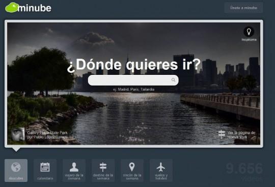 Minube 3.0.  elige, comparte o recomienda tu viaje