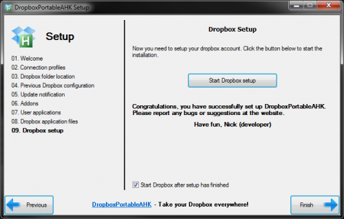 Descargar Dropbox Portable