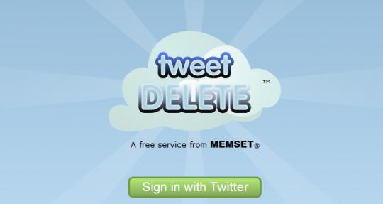 Borrar todos los tweets de una cuenta en Twitter