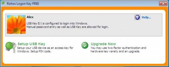 Utilizar un USB como contraseña de Windows