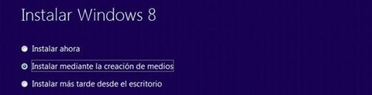 Actualizar el sistema operativo a Windows 8