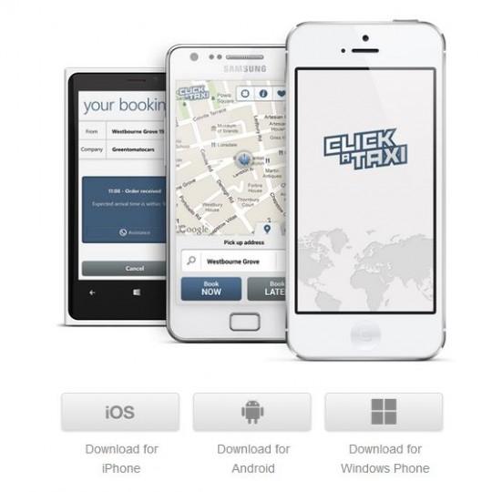 Pedir un Taxi desde el móvil en España