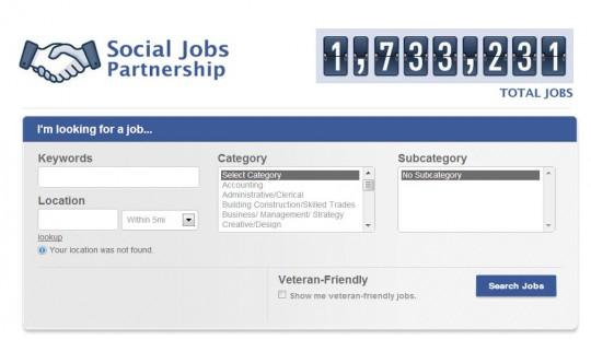 Facebook lanza un buscador de empleo