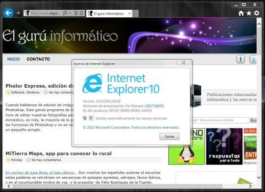 Descargar Internet Explorer 10 Para Windows 7