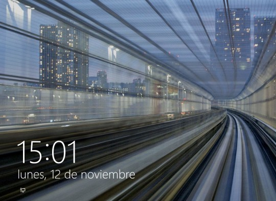 Desactivar la pantalla de bloqueo en Windows 8