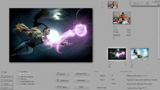 Pholor Express, edición de imágenes en Windows