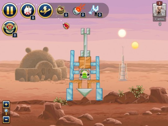 Jugar a Angry Birds Star Wars online