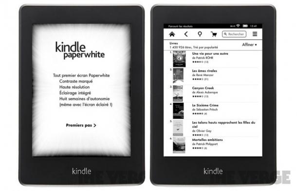 Kindle Paperwhite, el nuevo e-book de Amazon