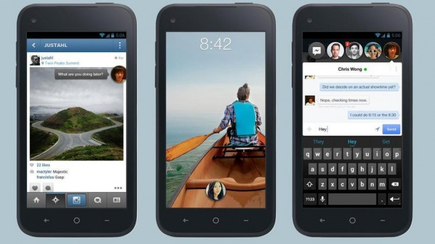 Facebook Home HTC