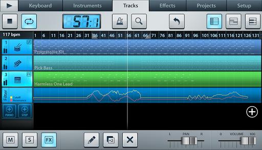 Editor de audio y secuenciador FL Studio Mobile