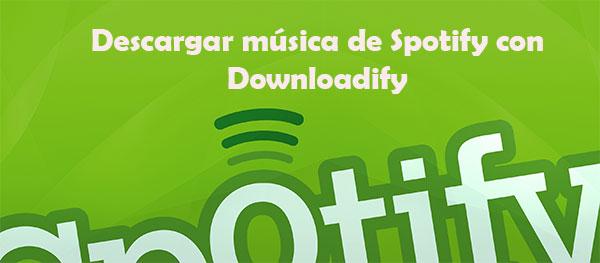 Descargar música de Spotify