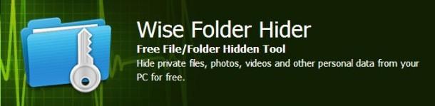 Ocultar carpetas y archivos en Windows con Wise Folder Hider