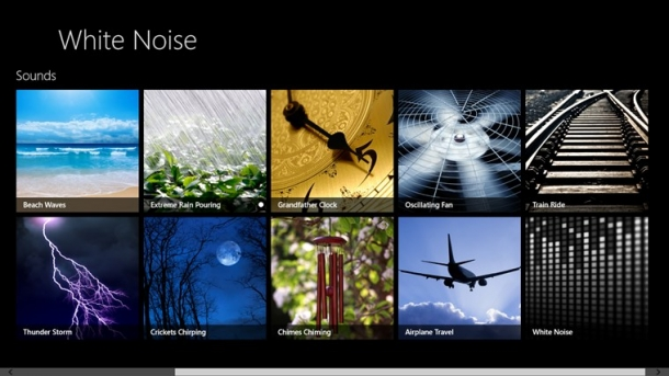 White Noise para Windows 8