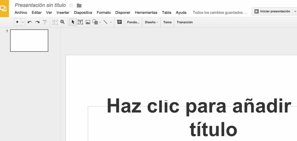 google-presentaciones