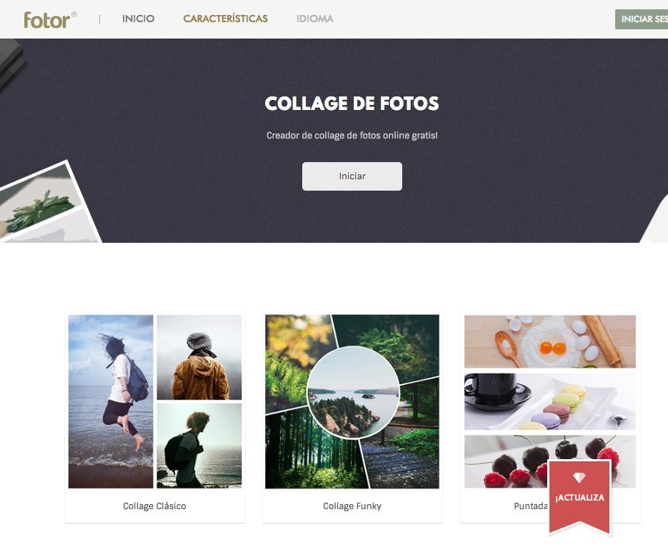 aplicaciones para crear collage de fotos. Black Bedroom Furniture Sets. Home Design Ideas