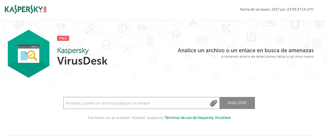 Kaspersky-analizador-online